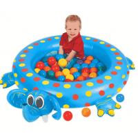 Сухой надувной бассейн Слоненок + 50 шаров