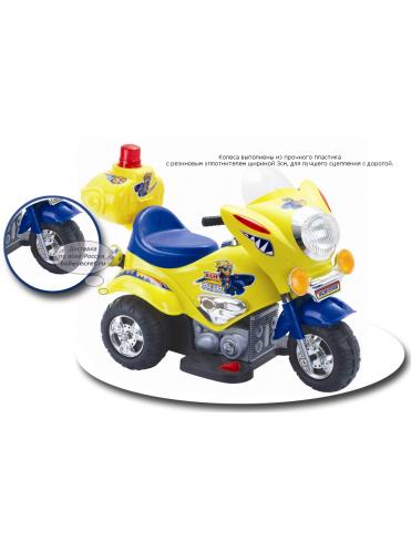 Электромотоцикл детский TjaGo Mini Police
