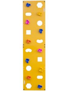 Детский скалодром Эльбрус пристенный 500х2000 с отверстиями