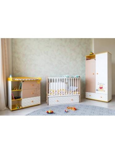 Комод с пеленальным столиком Polini Disney baby 5090
