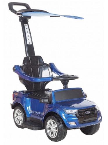 Детская каталка Ford Ranger DK-P01-C Лицензия с ручкой