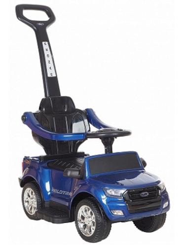 Детская каталка Ford Ranger DK-P01-B Лицензия с ручкой