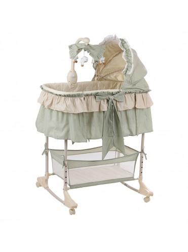 Кроватка колыбель для новорожденных Pituso  на колесах 4 в 1