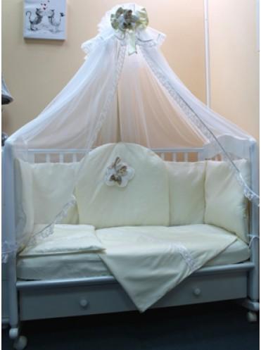 Комплект в детскую кроватку Ангел Мой 7 предметов