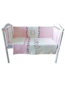 Комплект белья в кроватку Bambola Сладкие сны интерлок пенье 6 пр