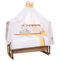 Комплект в кроватку Lider Kids Лошадки 7 предметов