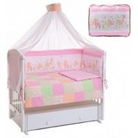Комплект в кроватку Lider Kids Веселая Лужайка 7 предметов