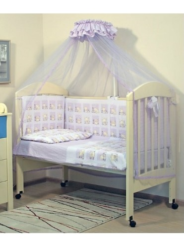Комплект в детскую кроватку Мишутка 7 предметов