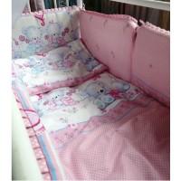 Комплект в детскую кроватку Нежность 7 предметов