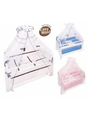 Комплект в кроватку Шоколадный мишка 7 предметов