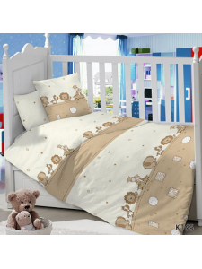 Комплект постельного белья Masterson Africa 3 предмета