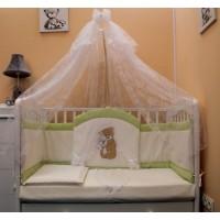 Комплект в детскую кроватку Спокойной ночи 7 предметов