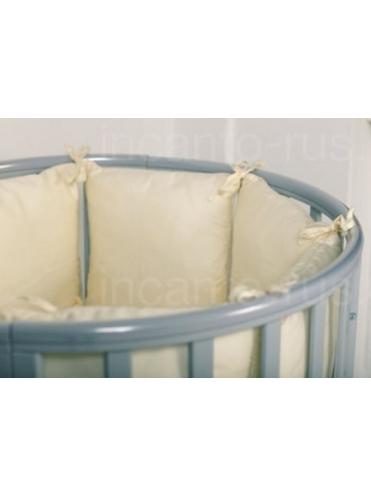 Кровать Incanto Amelia 8 в 1 с накладками, бук