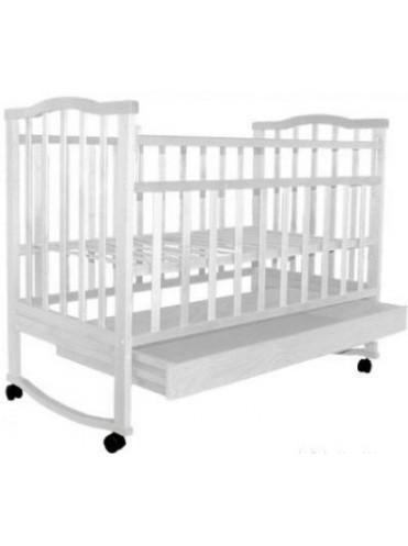 Детская кроватка Золушка 2 (колесо+качалка+ящик)