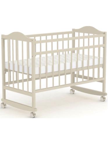 Детская деревянная кроватка Фея 204 колесо-качалка