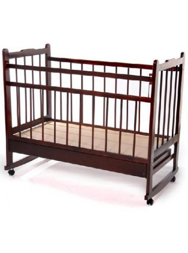 Кроватка детская Мишутка-14 (колесо/качалка +ящик)
