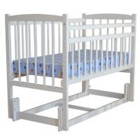Детская кроватка Беби 3 (маятник продольный, опуск.планка) разборная