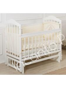 Детская кроватка Incanto Pali Мишка (без ящика, поперечный маятник)