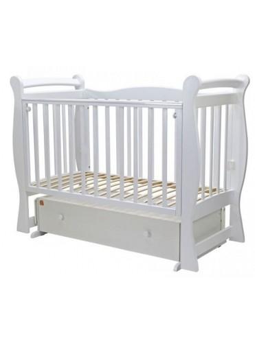 Кроватка маятник поперечный Топотушки Валенсия 6