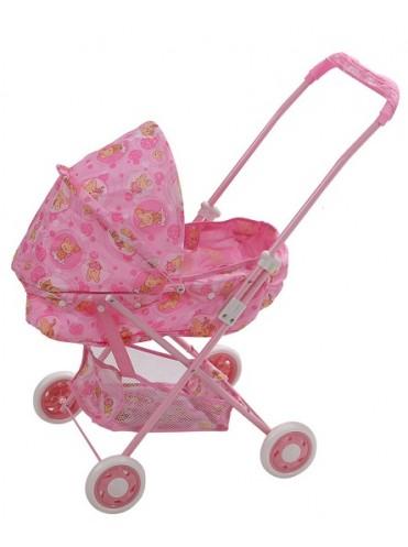 Кукольная коляска Fei li toys с сумкой FL731
