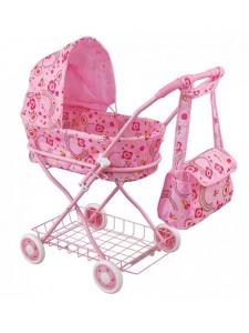 Кукольная коляска Fei li toys с сумкой FL8127