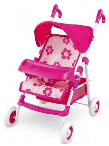 Кукольная коляска-трость с регулируемой ручкой Fel Li Toys FL8116-1