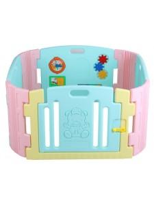 Детский ограждение-манеж с игровой панелью Edu Play BR-7317PCT