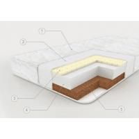 """Матрас в кроватку """"Ecolat"""" кокос 1,19х0,6х0,12 м"""