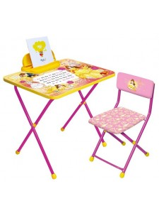 Набор мебели Ника Мультики стол+пенал+стул
