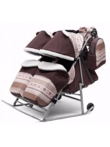 Санки-коляска Скандинавия - 2В Твин