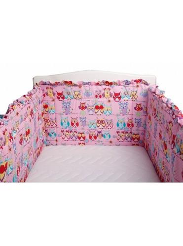Бортик в кроватку BamBola Совушка