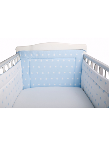 Бортик в кроватку Bambola Звездочки бязь 133