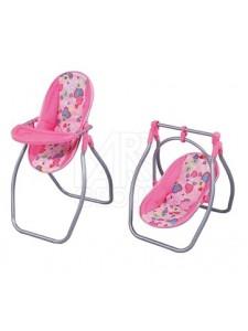 Кукольный стул для кормления-качели FEI LI TOYS FL8268-C
