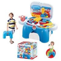 Игровой набор XIONG CHENG Маленький доктор в чемодане-стульчике 008-91
