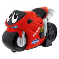 Инерционный турбо-мотоцикл Chicco Ducati красный