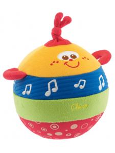 Игрушка развивающая Chicco Мячик мягкий музыкальный