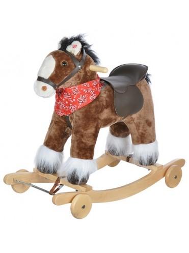 Детская качалка-Лошадка Pituso Fandango с колесами