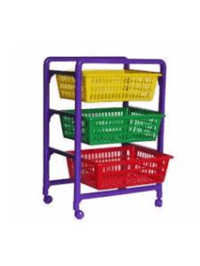 Контейнер для игрушек с выдвигающимися лотками