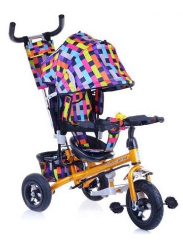 Велосипед трехколесный 102-BW Air надувные колеса