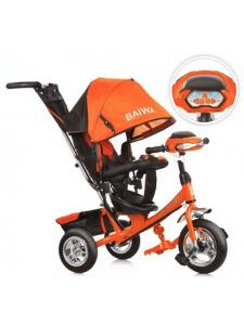 Велосипед трехколесный 6633-BW Air надувные колеса