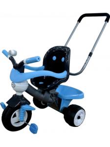 Велосипед трехколесный Амиго №3 с ограждением, клаксоном, ручкой и мягким сиденьем