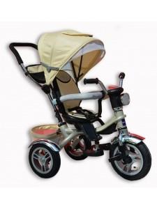 Велосипед трехколесный Jaguar + фара (надувные колеса)
