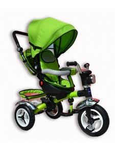 Велосипед трехколесный Lion + фара (надувные колеса)