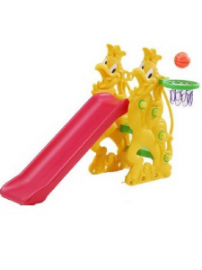 Детская пластиковая горка Петушок