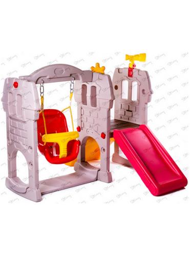 Детский комплекс (качели, горка) Замок Принца