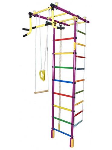 Домашние спорткомплексы Атлант-4С Плюс + подарок мат гимнастический