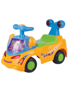 Детская каталка Веселая машинка
