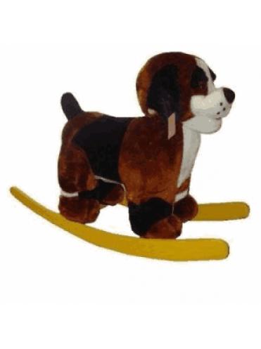 Детская мягкая качалка Собака