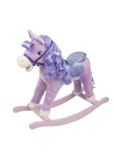 Детская мягкая качалка Пони Принцесса 2037