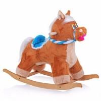 Детская мягкая качалка Пони бюджет